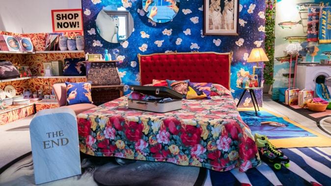 Los diseños surrealistas son una de las tendencias en diseños de dormitorios para 2020.