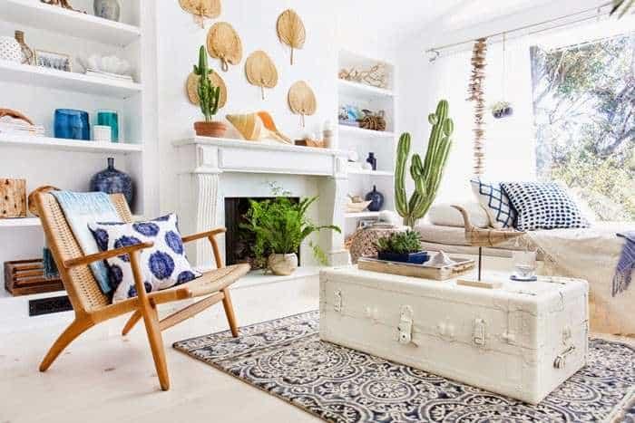 El estilo mediterráneo será una de las tendencias en decoración de interiores para 2020.