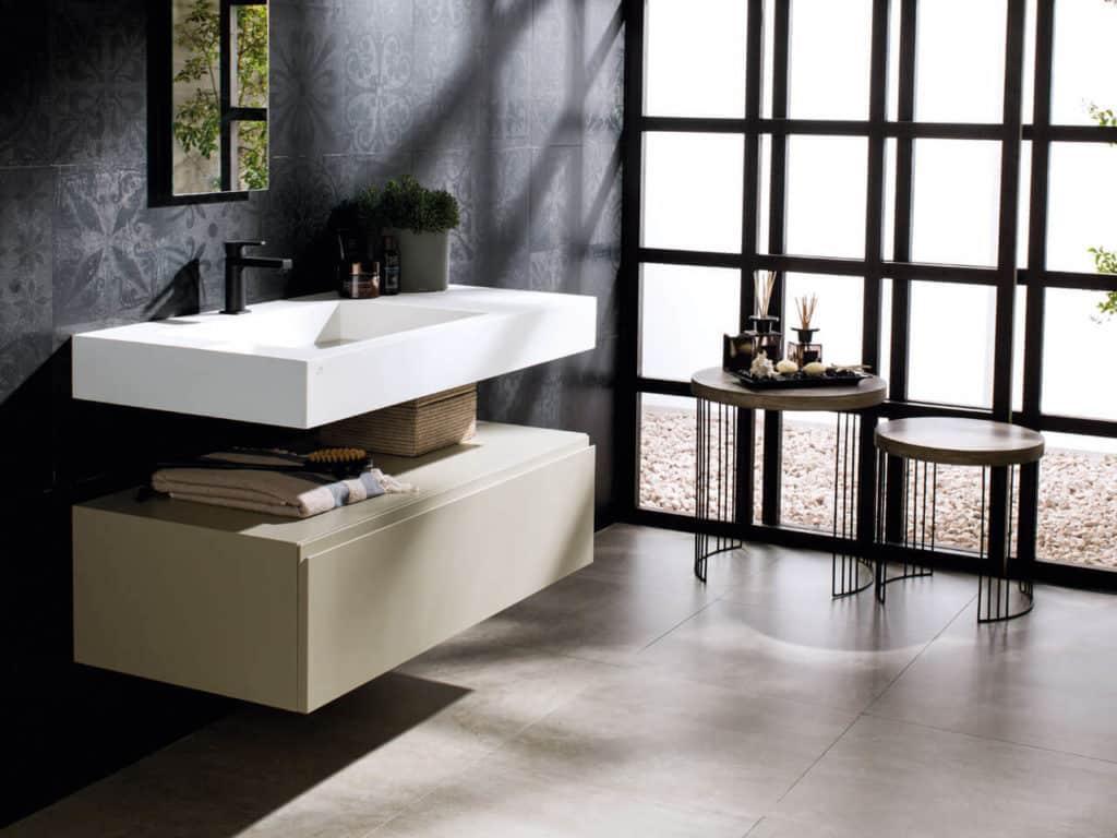 Los lavabos y tocadores industriales van a ser una apuesta muy fuerte en las tendencias en muebles de baño para 2020.