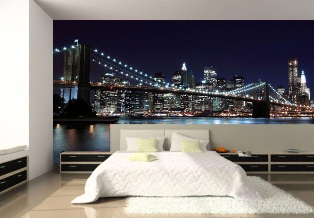 Los fotomurales son una de las tendencias en decoración de paredes para 2020.