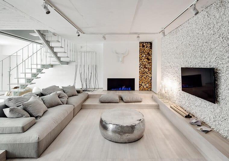 La decoración de interiores con diseños minimalistas serán tendencia en 2020.