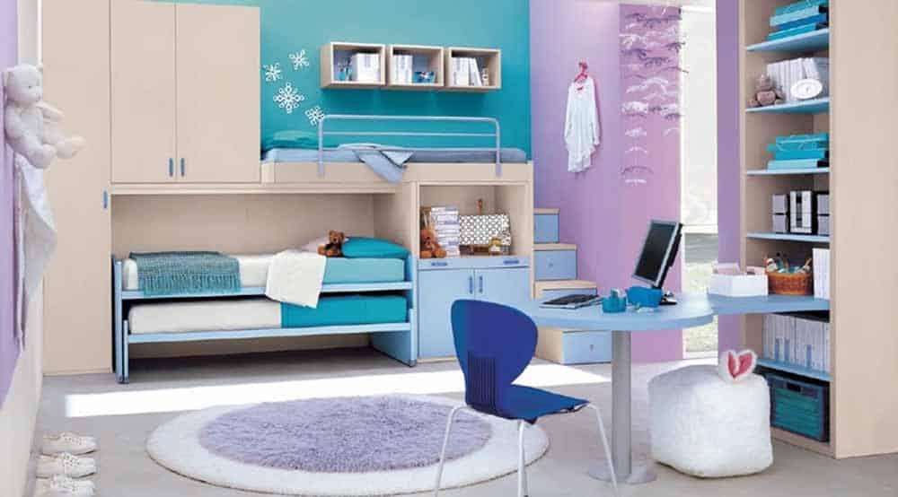 Los muebles deben acoplarse al poco espacio del que disponemos.