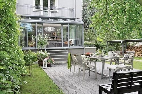 Los jardines con decoración industrial serán tendencia para 2020