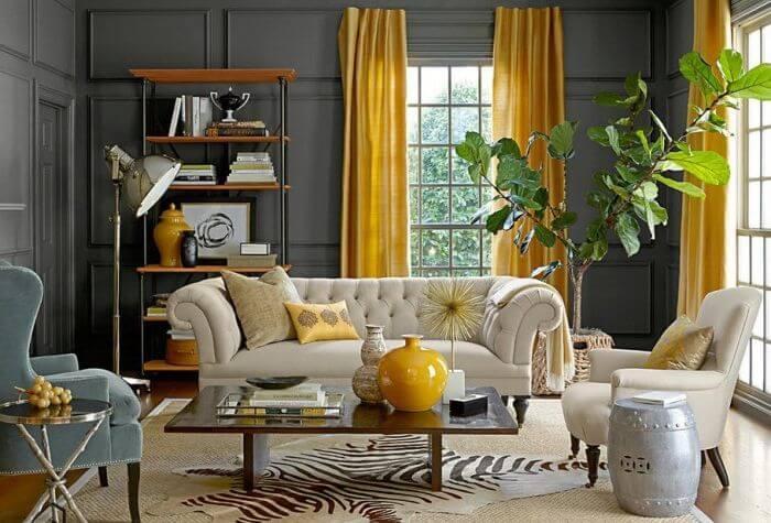 La renovación de muebles antiguos es una muy buena idea para decorar tu sala de estar.