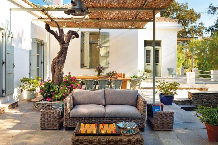 El estilo mediterráneo será una de las tendencias en decoración de jardines para 2020