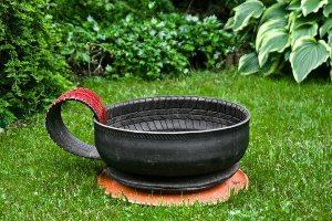 Reciclaje jardín y decoración